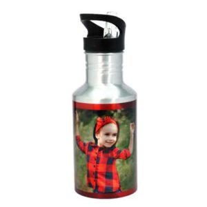 בקבוק בעיצוב אישי עם פקק לחיץ
